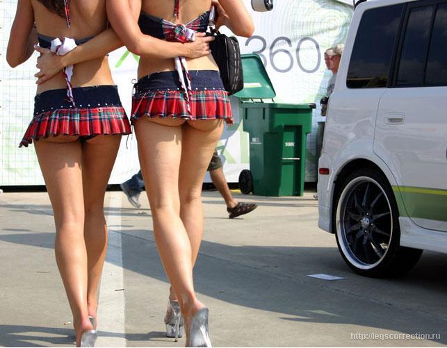 Секси в коротеньких шортиках и юбочках (45 фото). Ошибочные утверждения о